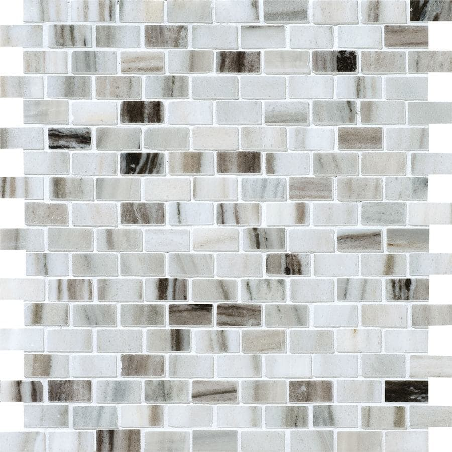 Bermar Natural Stone Palermo Blend Polished Marble Floor and Wall Tile (Common: 12-in x 12-in; Actual: 11.75-in x 11.625-in)