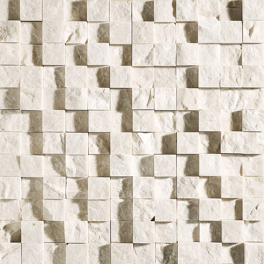 Bermar Natural Stone Oasis Rock Face Marble Floor and Wall Tile (Common: 12-in x 12-in; Actual: 12-in x 12-in)