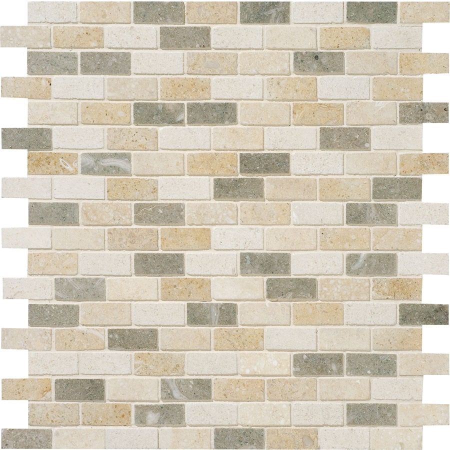 Bermar Natural Stone Bali Honed Limestone Floor and Wall Tile (Common: 12-in x 12-in; Actual: 12-in x 12-in)