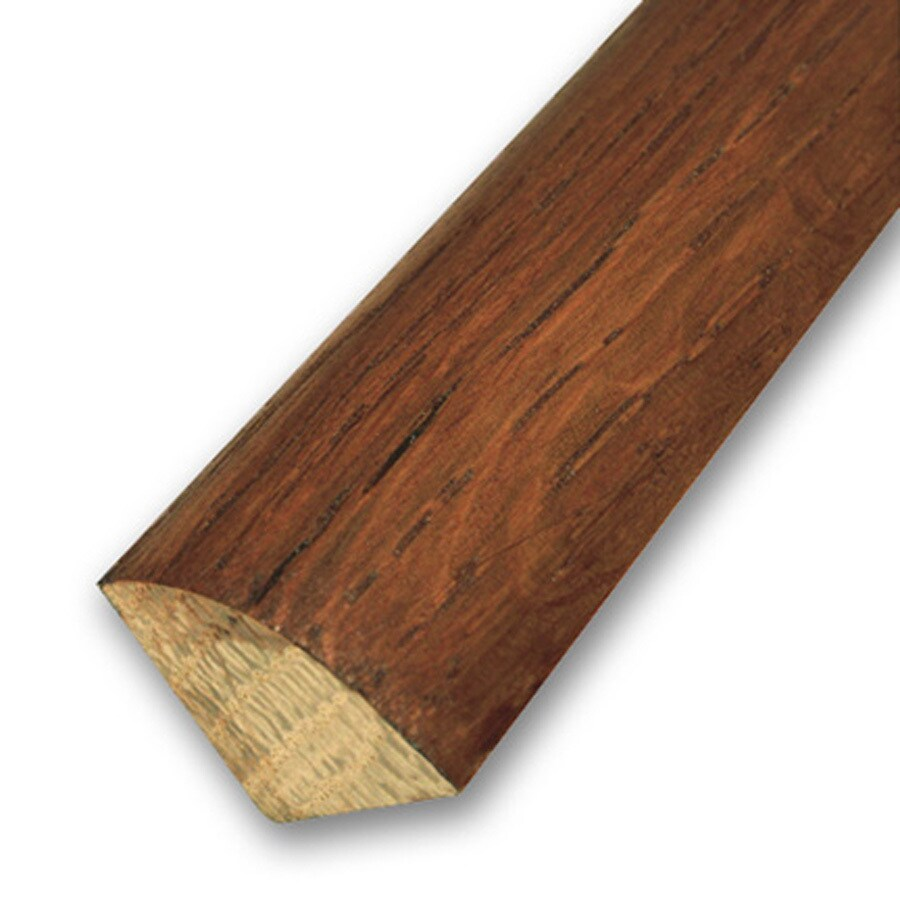 LM Flooring 3/4-in x 78-in Autumn Hickory Quarter Round Moulding