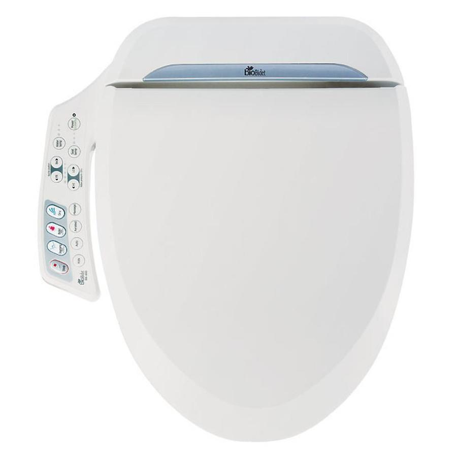 Bio Bidet Plastic Elongated Slow Close Heated Bidet Toilet