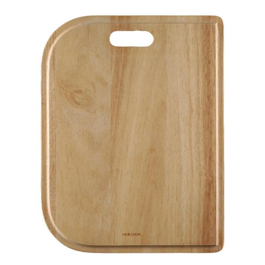HOUZER 1 17-in L x 13.125-in W Wood Cutting Board