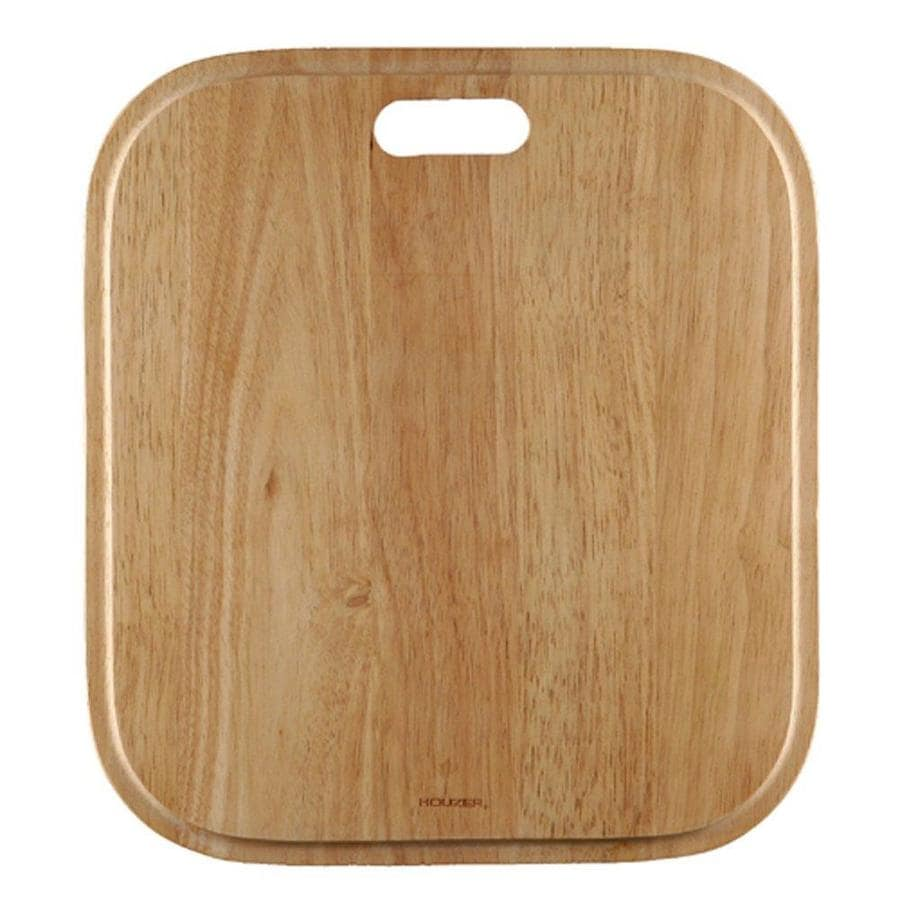 HOUZER 1 16.75-in L x 15-in W Wood Cutting Board