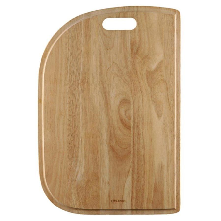 HOUZER 1 19.75-in L x 13.5-in W Wood Cutting Board