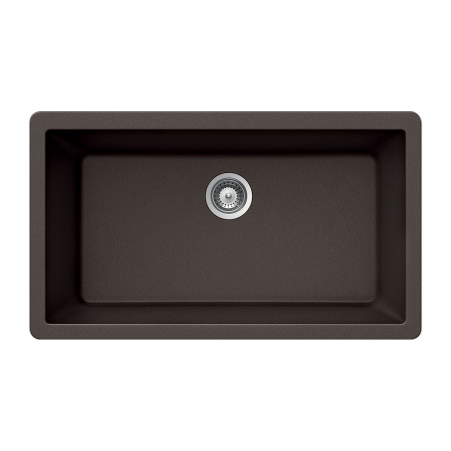 ... Single-Basin Granite Undermount Residential Kitchen Sink at Lowes.com