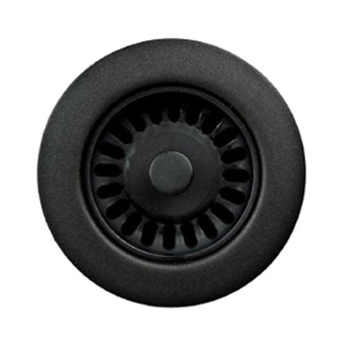 Houzer Preferra 3 5 In Matte Black Plastic Fixed Post