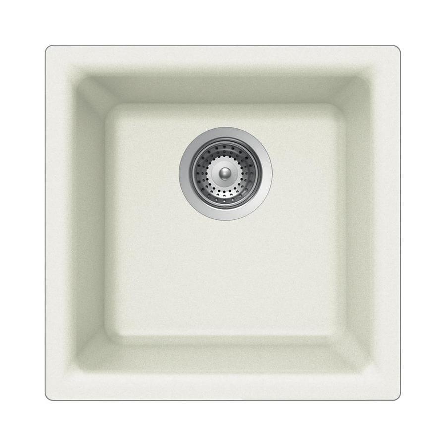 HOUZER Cristalite Alpina Granite Drop-in or Undermount Residential Bar Sink
