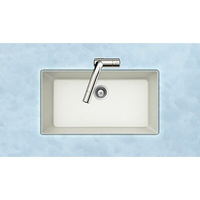 33-in x 18.4375-in Alpina Single-Basin Undermount Residential Kitchen Sink