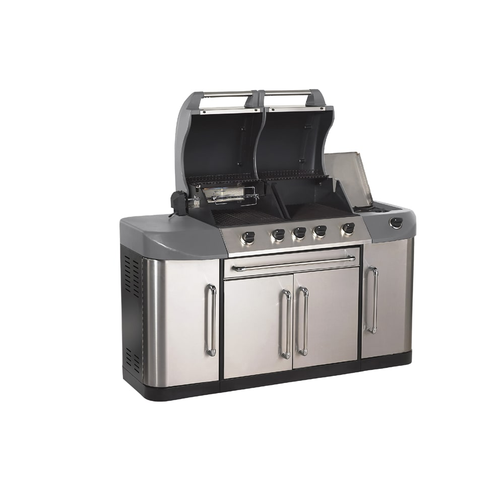 Perfect Flame Four-Burner Gas Grill