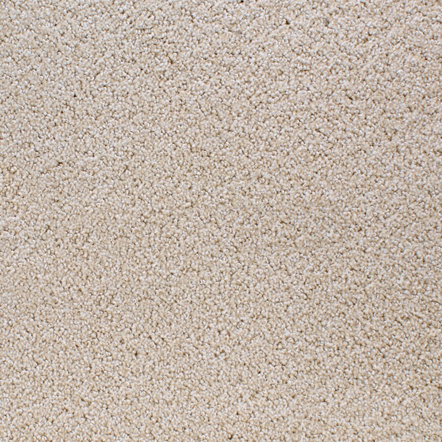 STAINMASTER Active Family Oak Grove 12-ft W x Cut-to-Length Cream/Beige/Almond Textured Interior Carpet