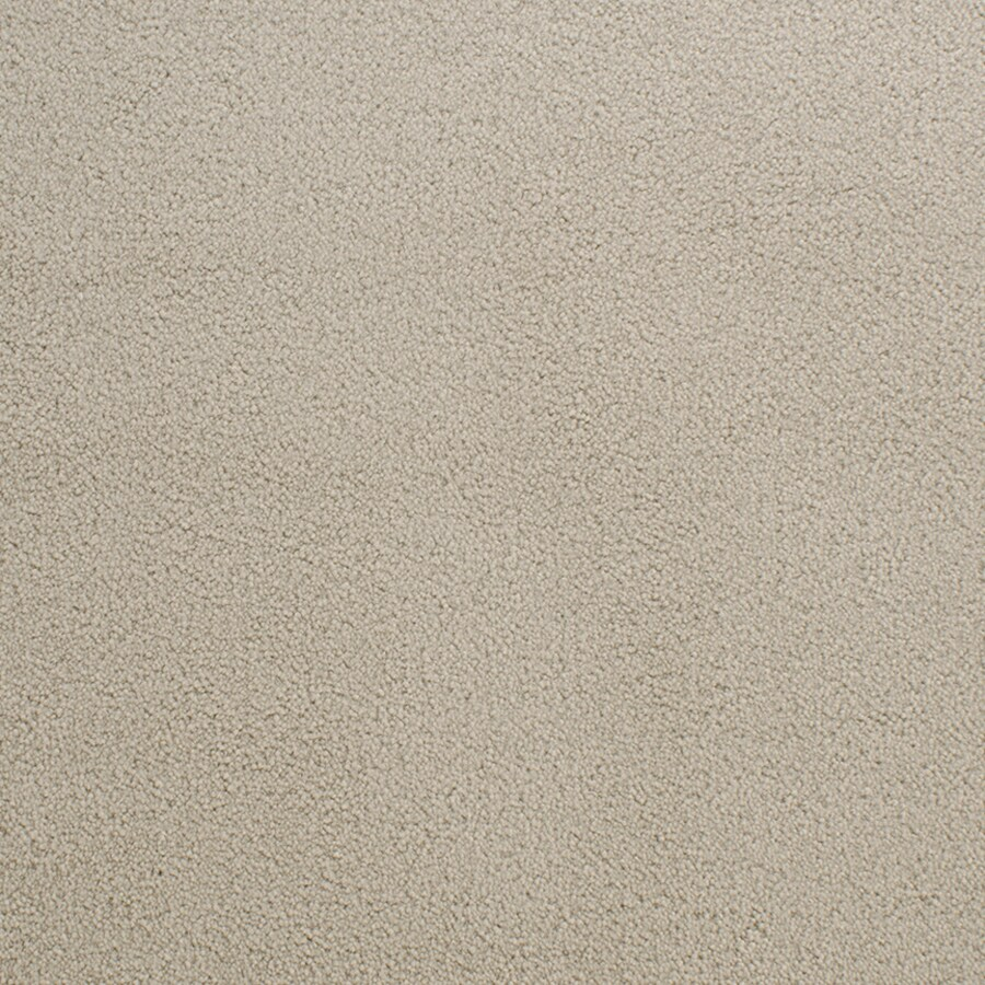 STAINMASTER Active Family Capri Place Cream/Beige/Almond Plush Indoor Carpet