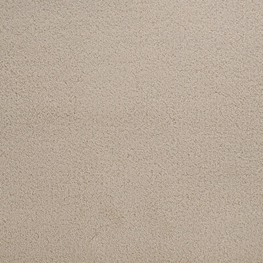 STAINMASTER Active Family Capri Place Cream/Beige/Almond Plush Interior Carpet