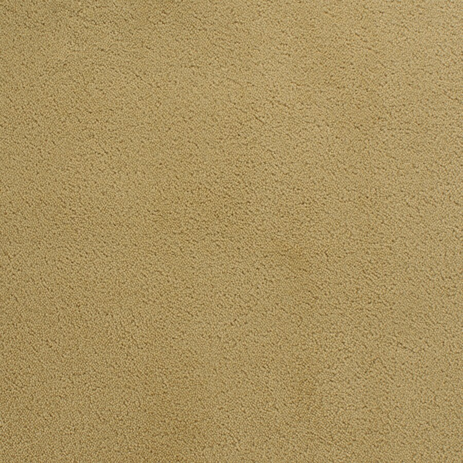 STAINMASTER Active Family Capri Place Yellow/Gold Plush Interior Carpet