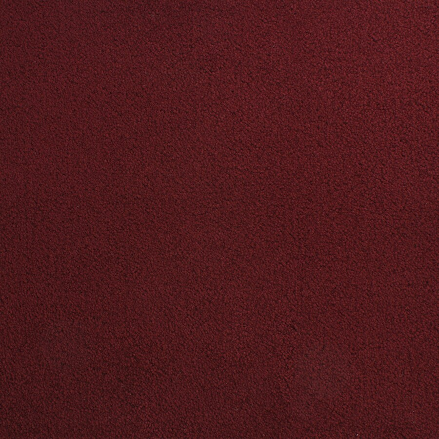 STAINMASTER Active Family Capri Place Red/Pink Plush Indoor Carpet