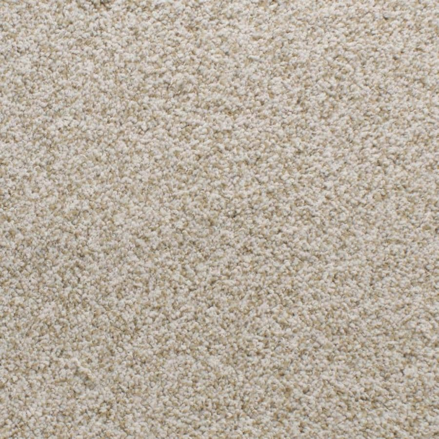 Dixie Group Active Family Exuberance III 12-ft W x Cut-to-Length Cream/Beige/Almond Textured Interior Carpet