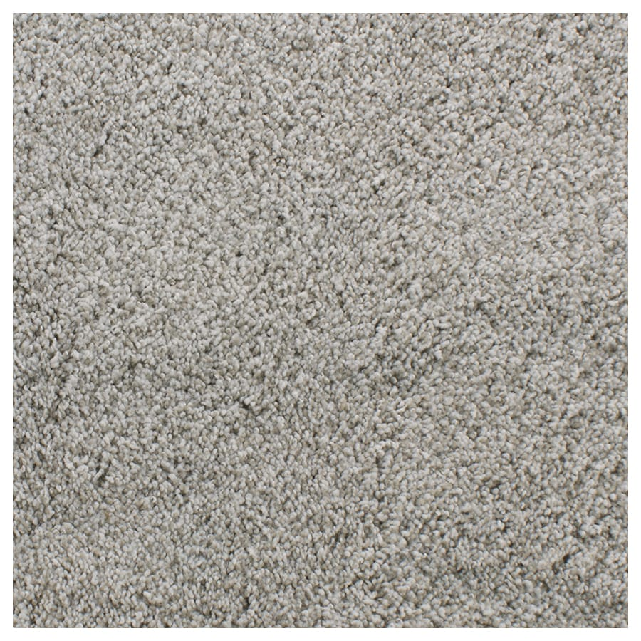 STAINMASTER TruSoft Briar Patch Gray/Silver Textured Indoor Carpet