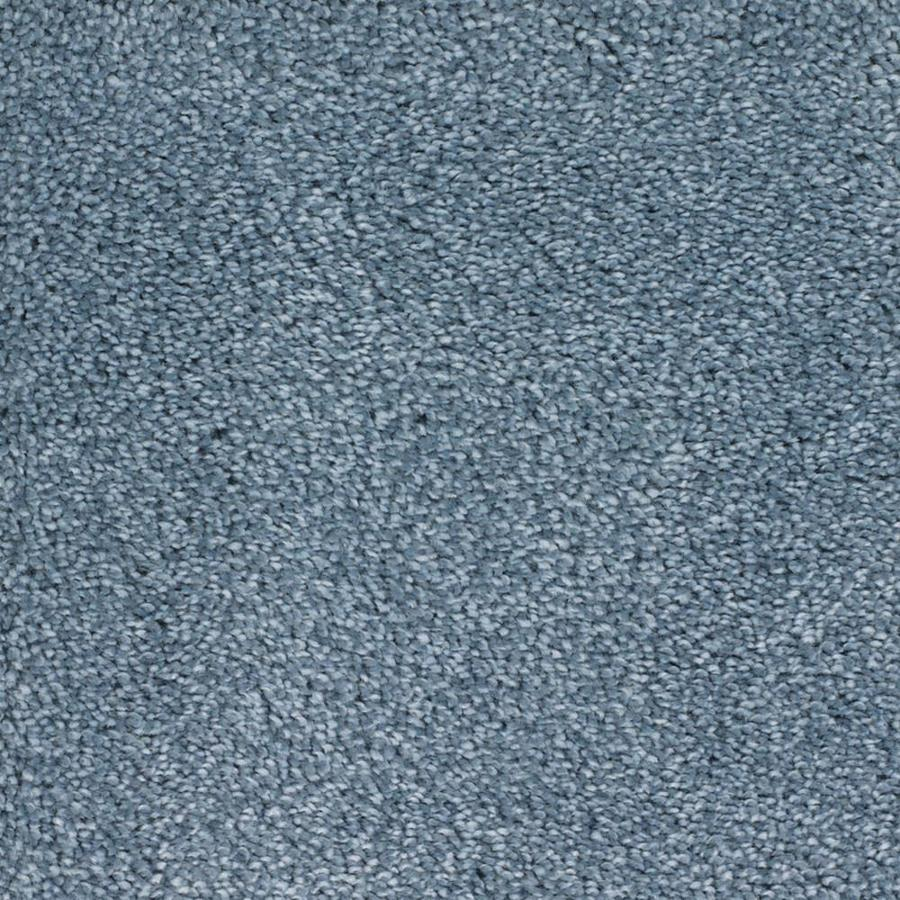 STAINMASTER TruSoft Briar Patch Blue Textured Interior Carpet