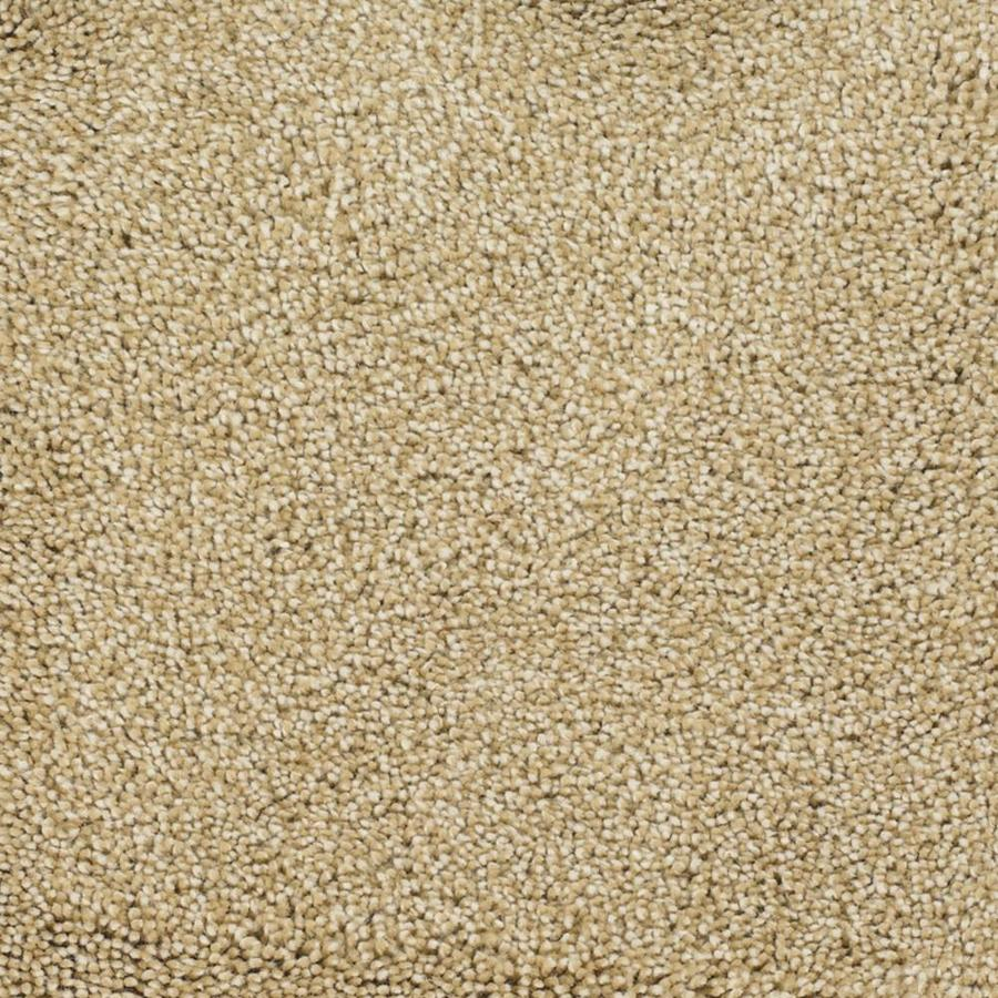 STAINMASTER TruSoft Briar Patch Yellow/Gold Textured Interior Carpet