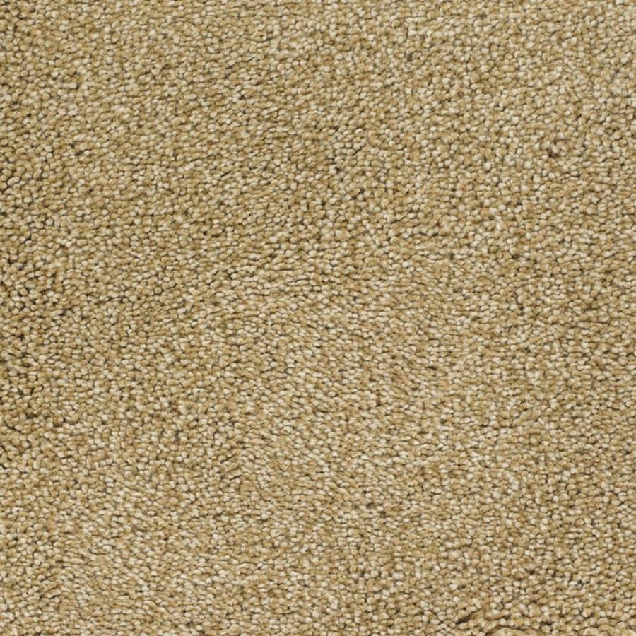 STAINMASTER TruSoft Shafer Valley Cream/Beige/Almond Textured Interior Carpet