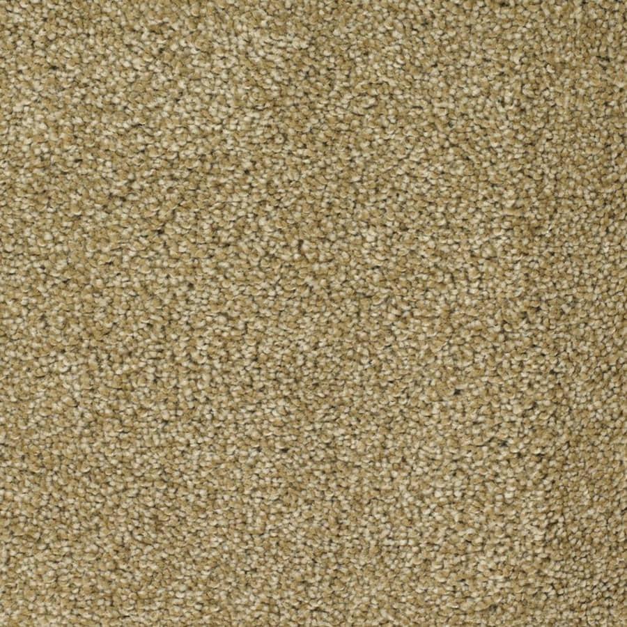 STAINMASTER TruSoft Shafer Valley Yellow/Gold Textured Interior Carpet