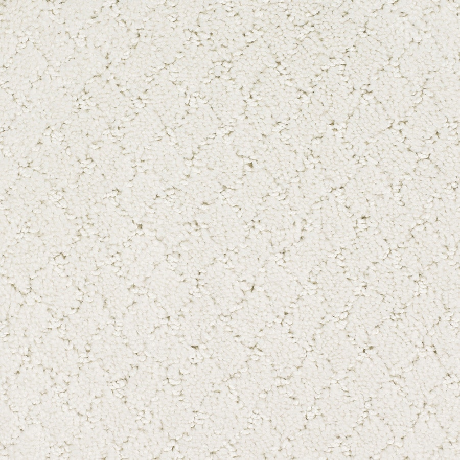 STAINMASTER Trusoft Galesburg 12-ft W x Cut-to-Length Cream/Beige/Almond Pattern Interior Carpet