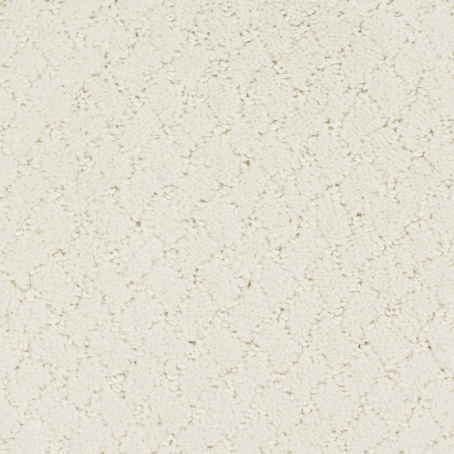 STAINMASTER TruSoft Galesburg 12-ft W Cream/Beige/Almond Pattern Interior Carpet