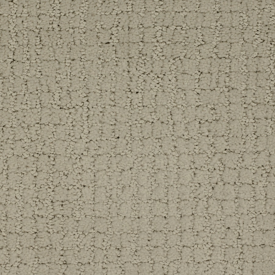STAINMASTER TruSoft Perpetual 12-ft W Cream/Beige/Almond Pattern Interior Carpet