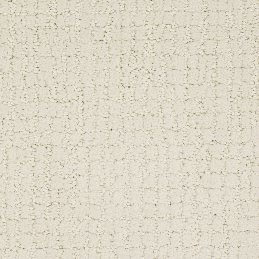 STAINMASTER Trusoft Perpetual 12-ft W x Cut-to-Length Cream/Beige/Almond Pattern Interior Carpet