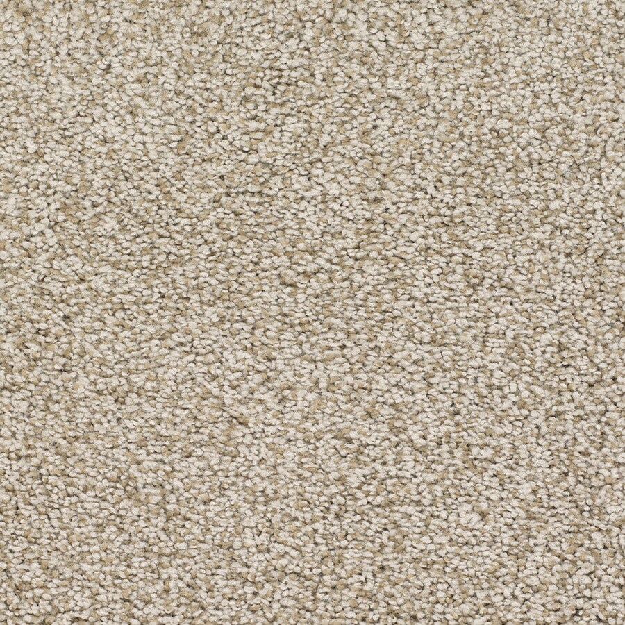 STAINMASTER TruSoft Chimney Rock 12-ft W x Cut-to-Length Cream/Beige/Almond Textured Interior Carpet