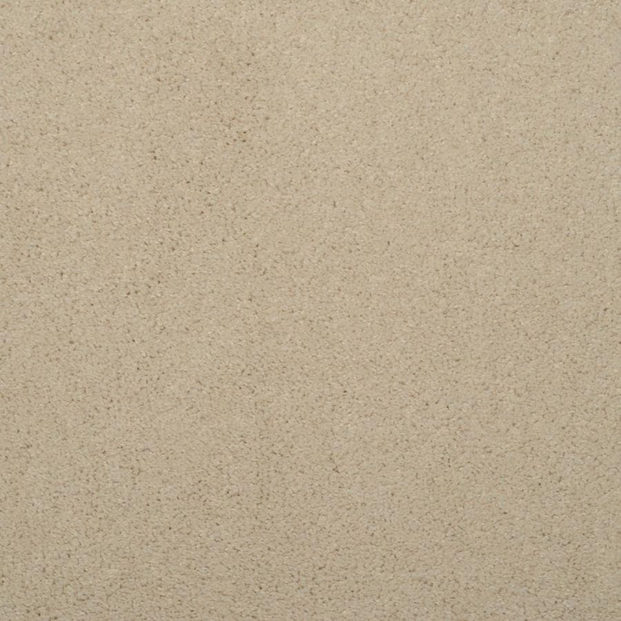 STAINMASTER TruSoft Luminosity 12-ft W Cream/Beige/Almond Textured Interior Carpet