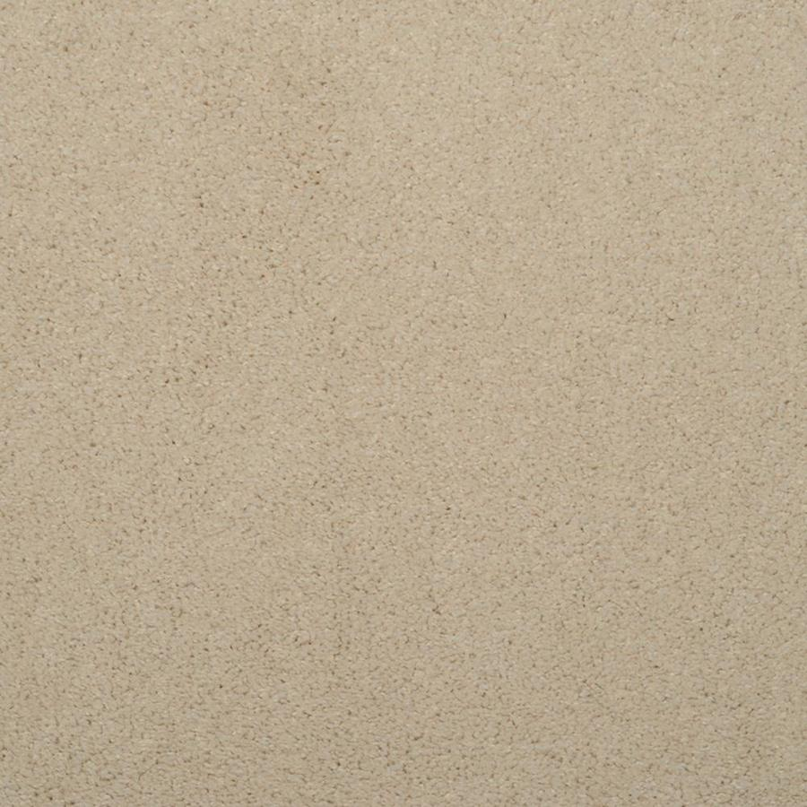 STAINMASTER Trusoft Luminosity Cream/Beige/Almond Textured Interior Carpet