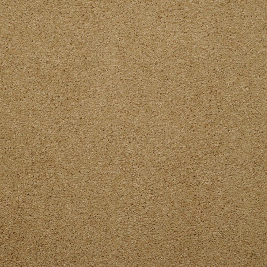 STAINMASTER Trusoft Luminosity Cream/Beige/Almond Textured Interior Carpet