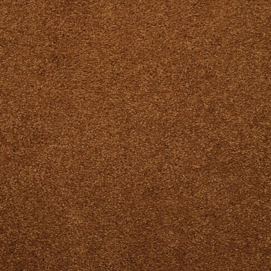 STAINMASTER TruSoft Luminosity Brown/Tan Textured Indoor Carpet