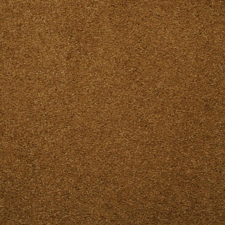 STAINMASTER TruSoft Luminosity Yellow/Gold Textured Indoor Carpet