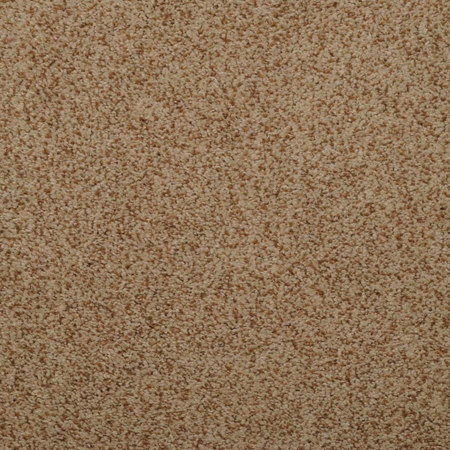 STAINMASTER TruSoft Luminosity 12-ft W x Cut-to-Length Brown/Tan Textured Interior Carpet