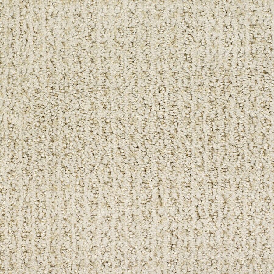 STAINMASTER TruSoft Salena 12-ft W x Cut-to-Length Cream/Beige/Almond Pattern Interior Carpet