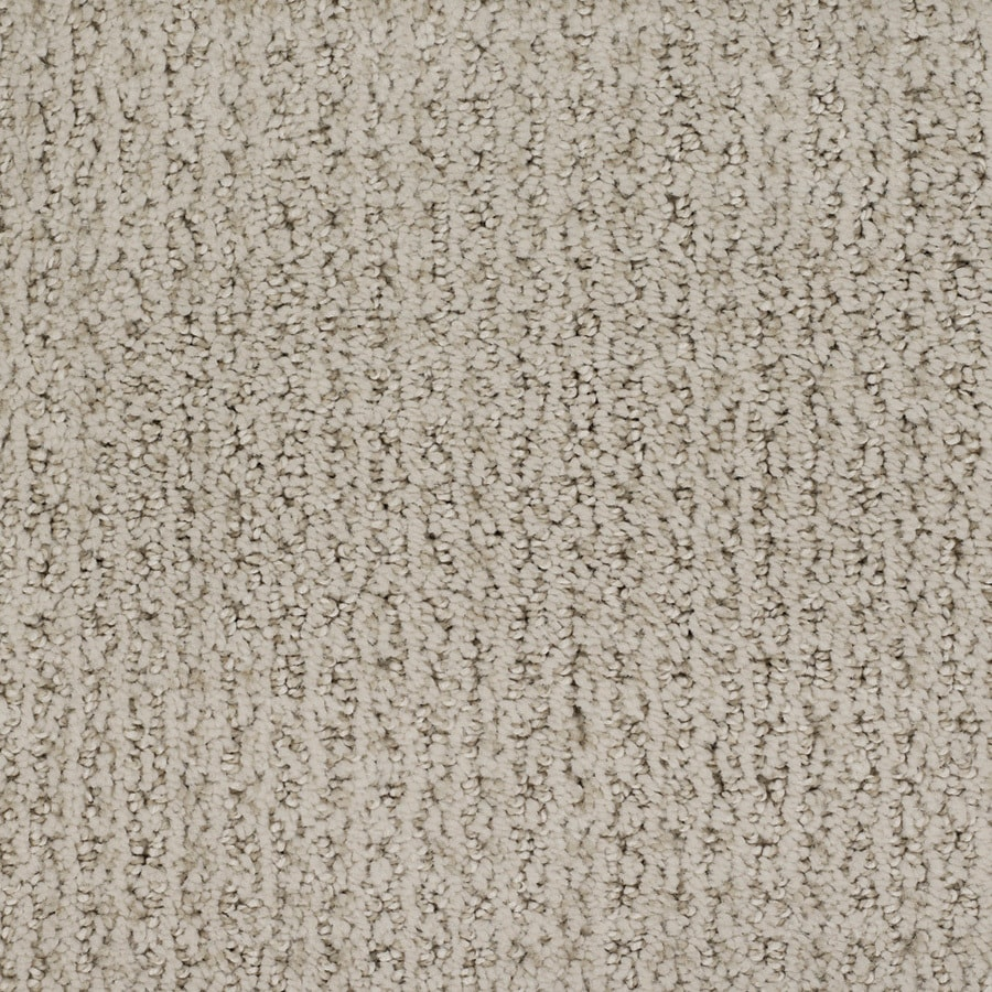 STAINMASTER TruSoft Salena 12-ft W Brown/Tan Pattern Interior Carpet