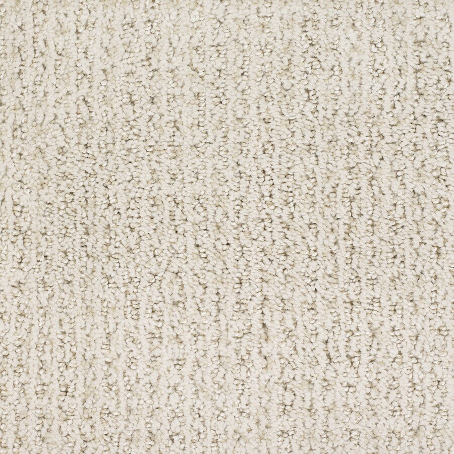 STAINMASTER TruSoft Salena 12-ft W x Cut-to-Length Cream/Beige/Almond Pattern Interior Carpet
