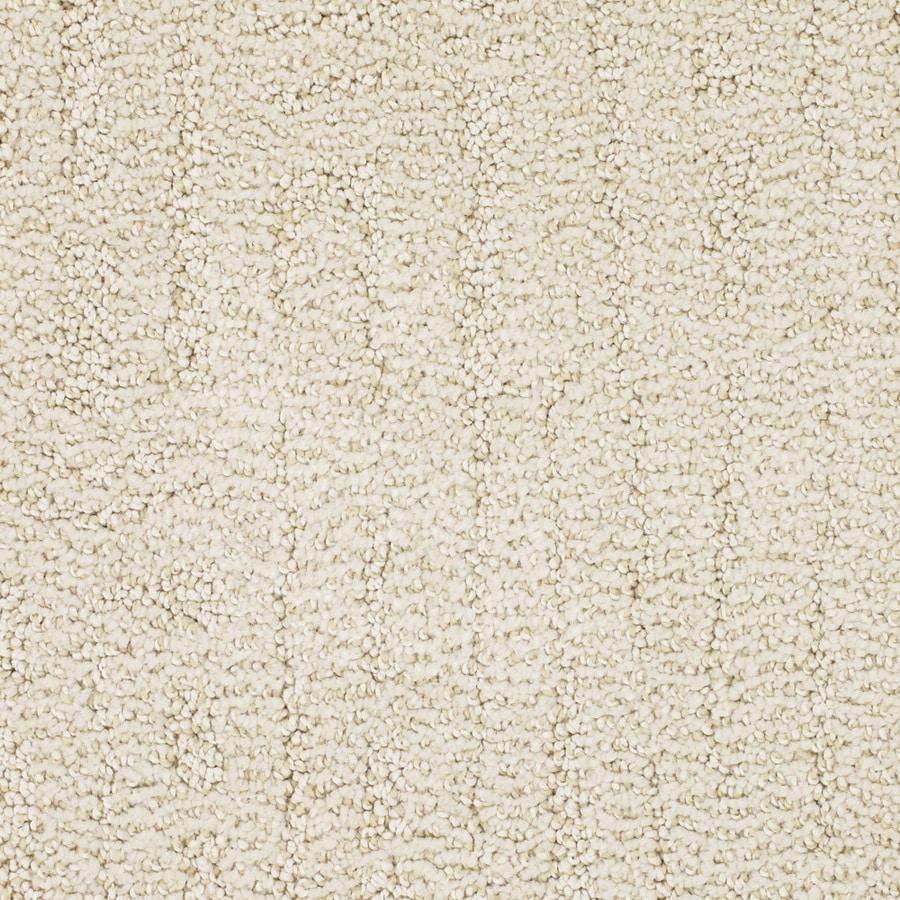 STAINMASTER Trusoft Regatta Cream/Beige/Almond Interior Carpet
