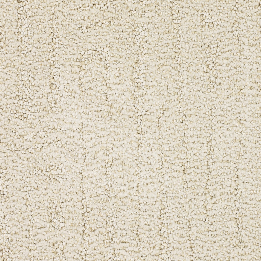 STAINMASTER TruSoft Regatta 12-ft W x Cut-to-Length Cream/Beige/Almond Pattern Interior Carpet