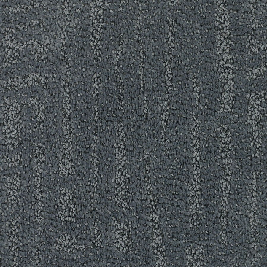 STAINMASTER TruSoft Regatta 12-ft W x Cut-to-Length Blue Pattern Interior Carpet
