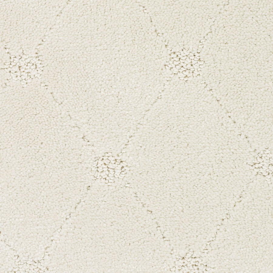 STAINMASTER Trusoft Columbia Valley 12-ft W x Cut-to-Length Cream/Beige/Almond Pattern Interior Carpet