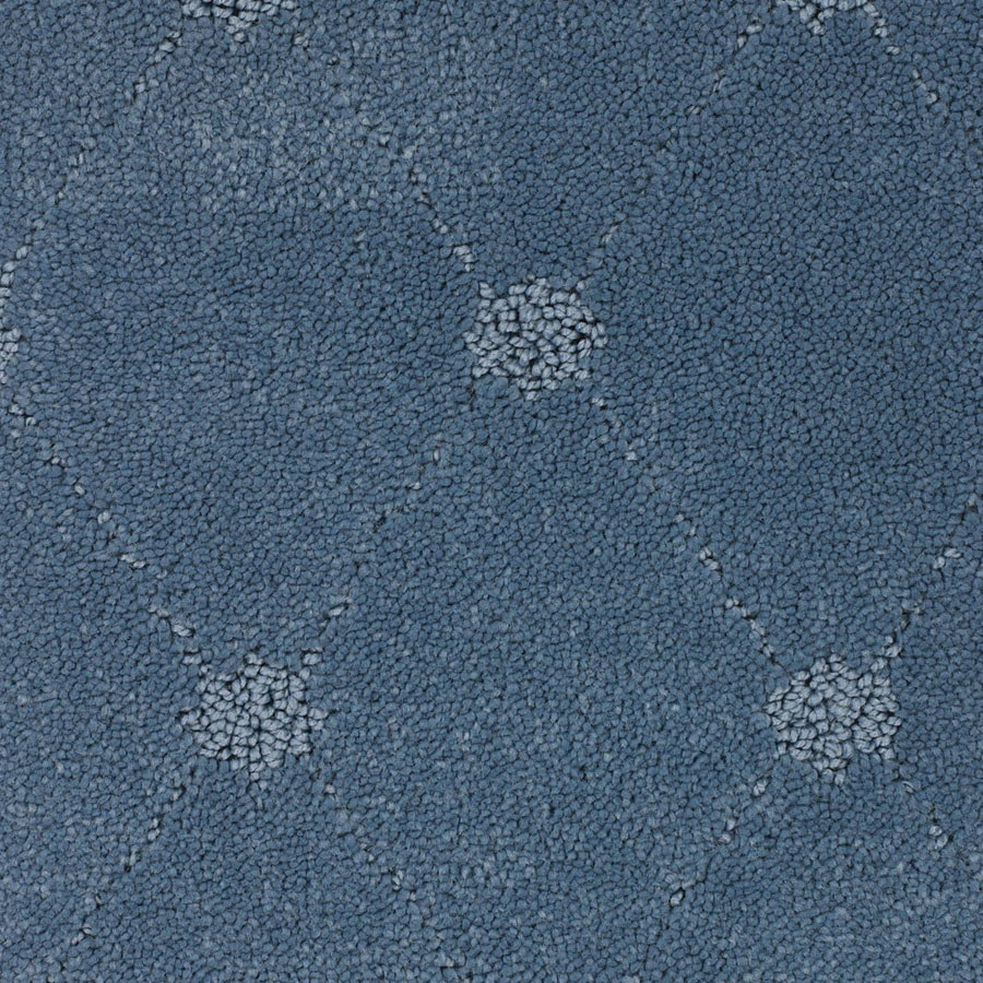 STAINMASTER TruSoft Columbia Valley 12-ft W x Cut-to-Length Blue Pattern Interior Carpet