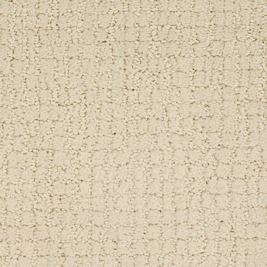 STAINMASTER Dutch Cream Rectangular Indoor Tufted Area Rug (Common: 4 x 6; Actual: 48-ft W x 72-ft L)