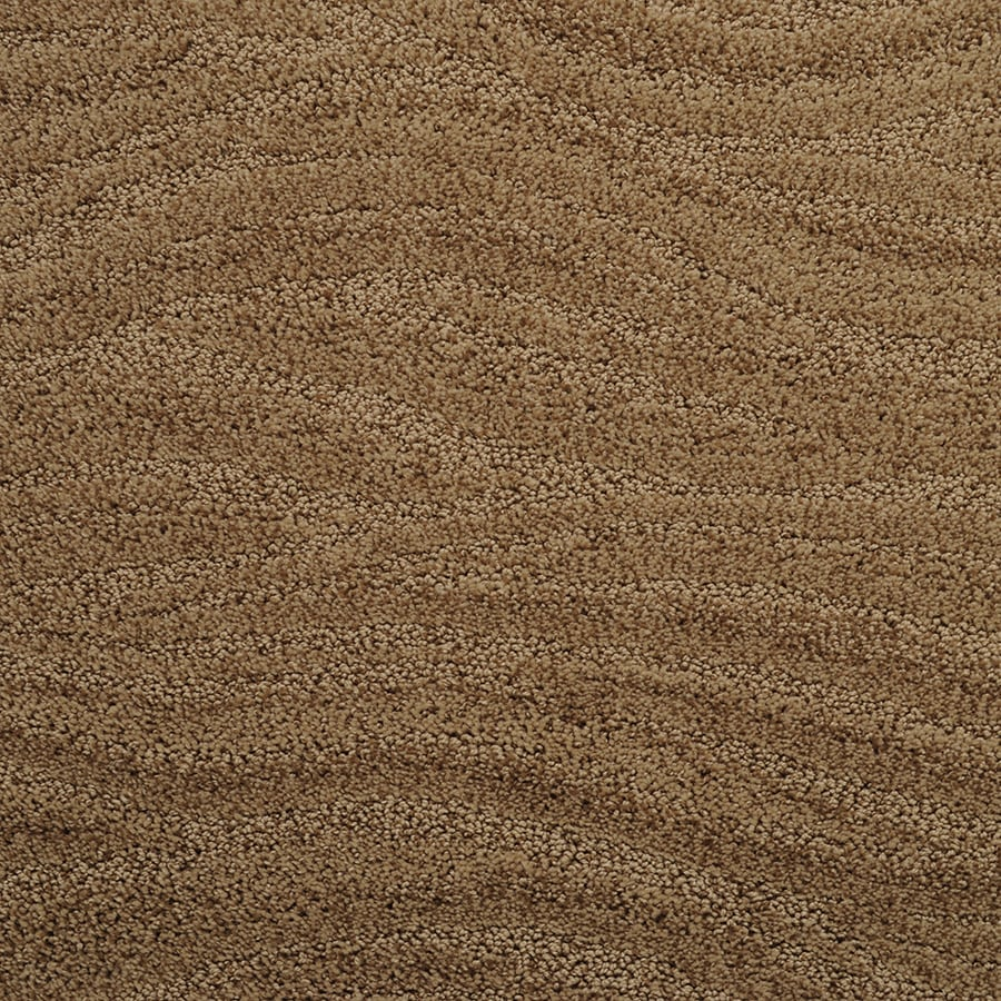 STAINMASTER Active Family Rutherford 12-ft W x Cut-to-Length Wild Mushroom Pattern Interior Carpet