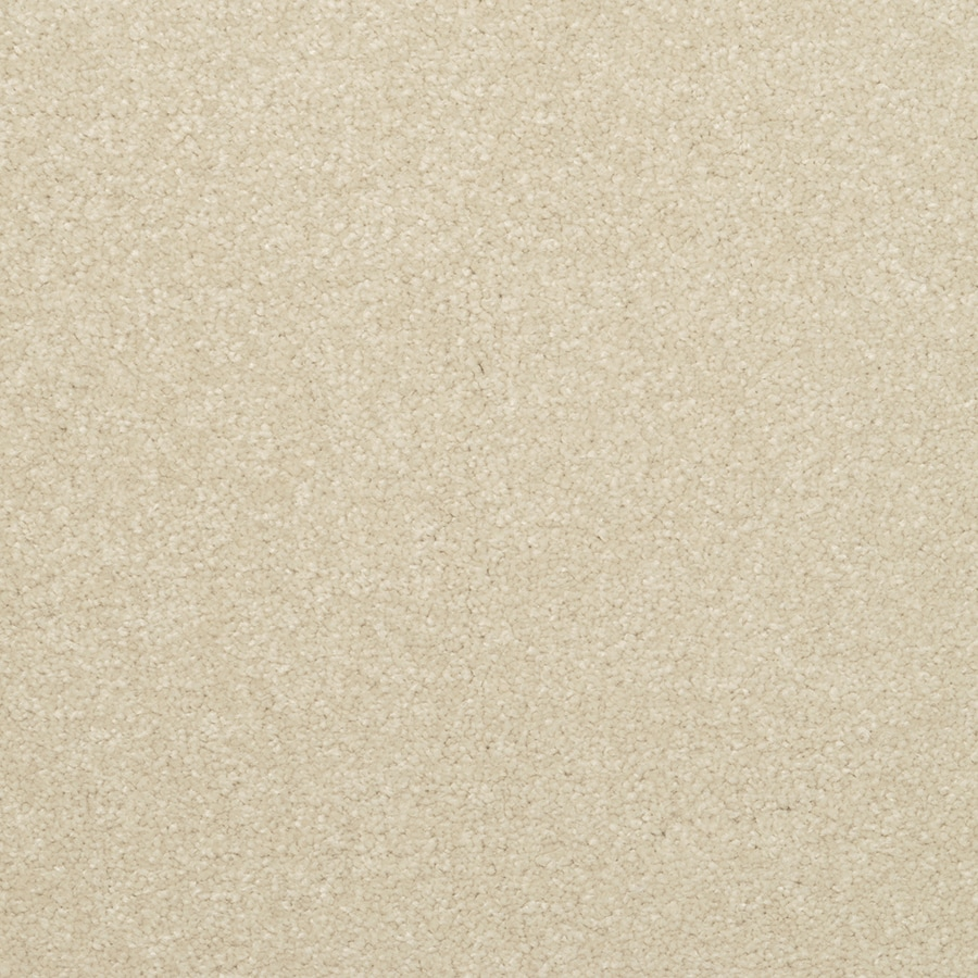 STAINMASTER Active Family Influential Sugar Almond Textured Interior Carpet