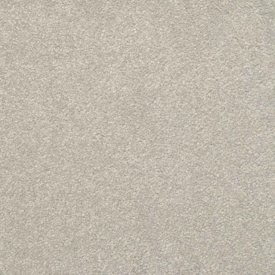 STAINMASTER Active Family Influential 12-ft W x Cut-to-Length Winter Sky Textured Interior Carpet