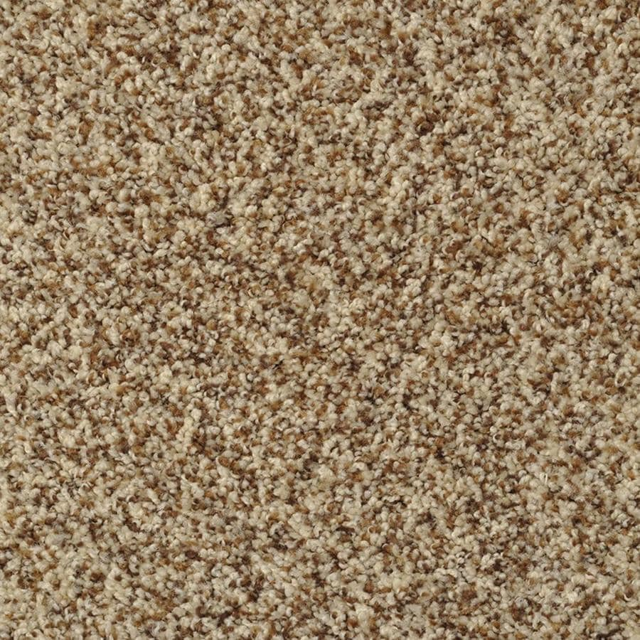 STAINMASTER Active Family On Broadway French Toast Textured Indoor Carpet