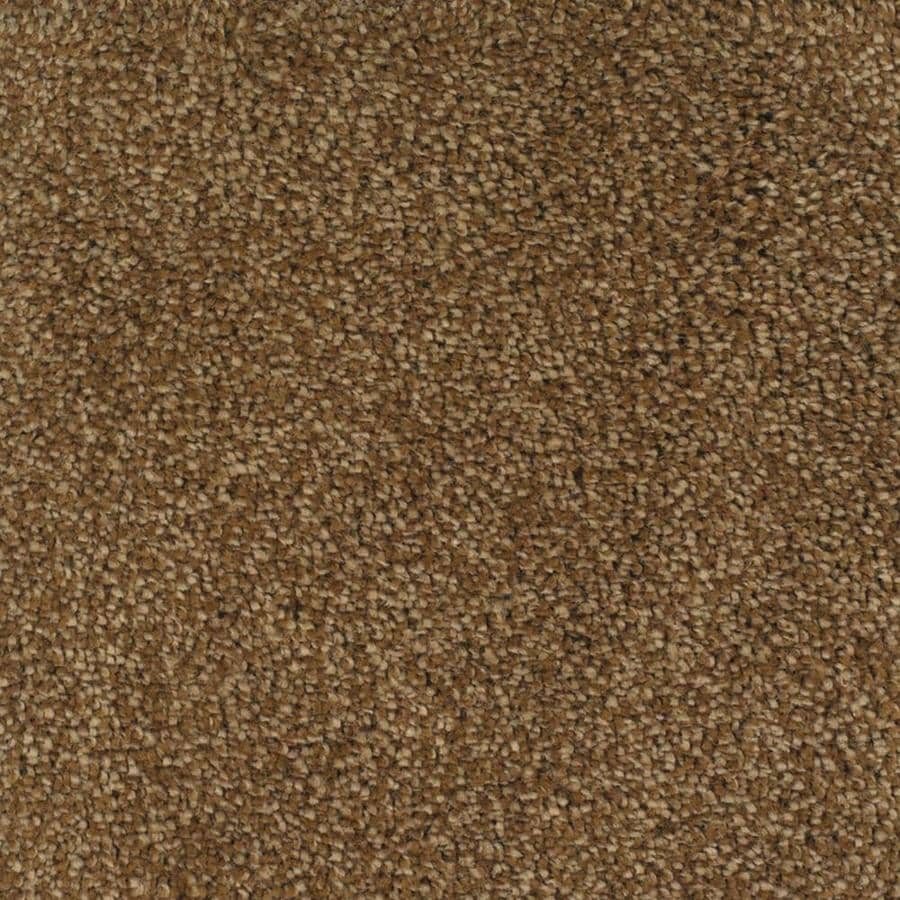 STAINMASTER TruSoft Pleasant Point 12-ft W x Cut-to-Length Smooth Stone Textured Interior Carpet