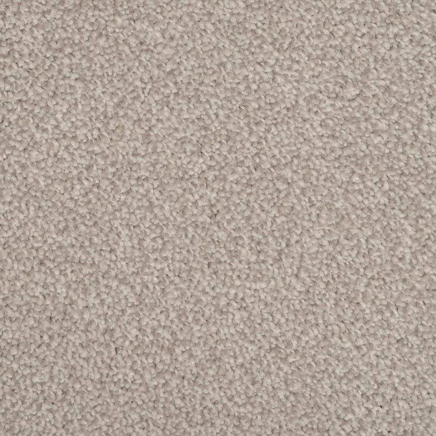 STAINMASTER TruSoft Shafer Valley 12-ft W x Cut-to-Length Pewter Textured Interior Carpet